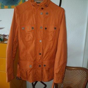ZARA Biker Jacke orange Gr.S (M) *top*