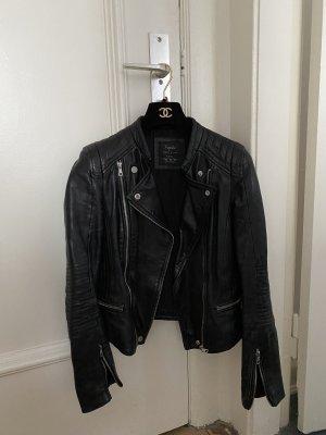 Zara Biker Leder Jacke Jacket Leather Top Blogger