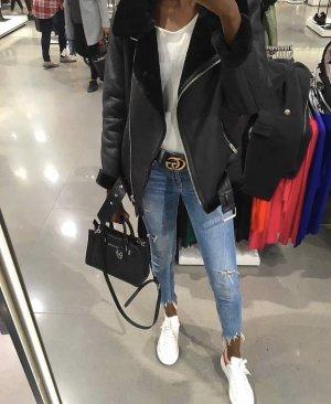 Zara Biker Jacket black