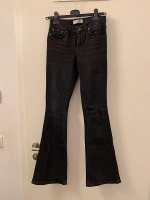 Zara black bootcut jeans