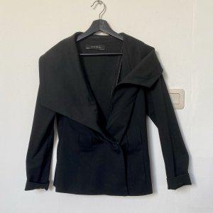 Zara Basic Wollen blazer zwart