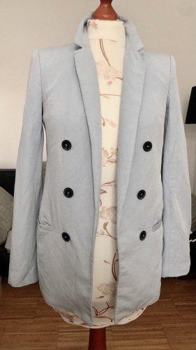 Zara Boyfriend blazer azuur