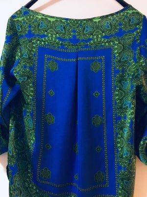 Zara Blaue Bluse Oberteile Shirt
