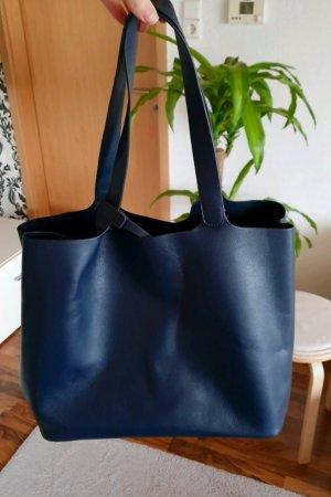 Zara blaue Tasche