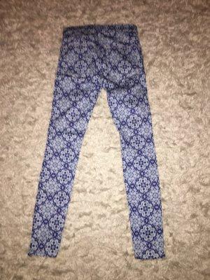Zara blaue und weiße Hosen
