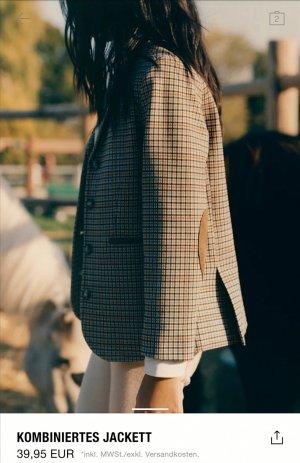Unbekannte Marke Blazer Tweed multicolor tejido mezclado