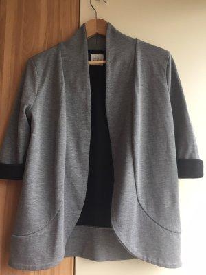 Zara Trafaluc Jersey blazer zwart-grijs