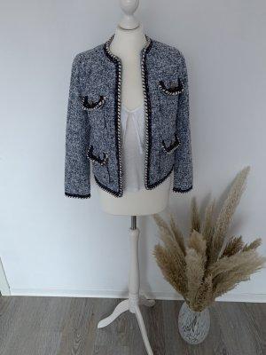 Zara Blazer en laine multicolore