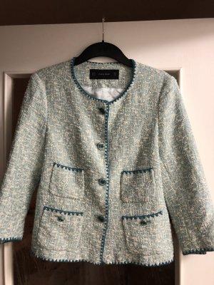 Zara Blazer Bouclé Jacke Gr. M Designer Look