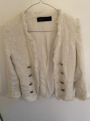 Zara blazer Chanel-style
