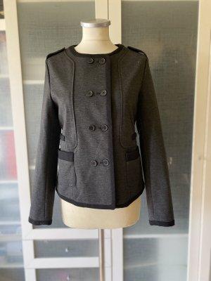 Zara Knitted Blazer dark grey-black