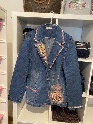 Zara Boyfriend blazer leigrijs-roségoud