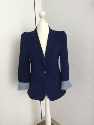 Zara Blazer in lana blu