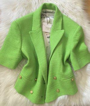 Zara Blazer in neon grün sold out