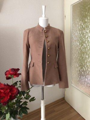Zara Jersey blazer roségoud-goud