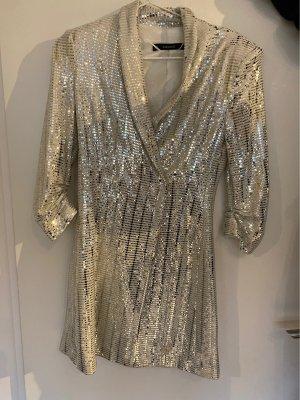 ZARA Blazer - Kleid mit Pailletten