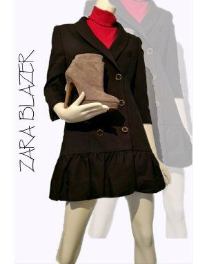 Zara Blazer-Kleid Schwarz Gr. M - Neu