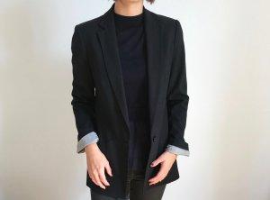 Zara Blazer Long schwarz Größe S