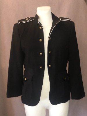 Zara Blazer Military blau L
