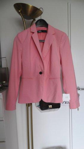Zara Blazer Neu Rosa Bubblegum S/36-38