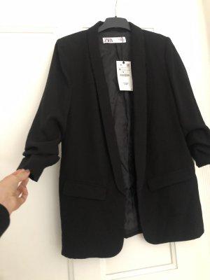 Zara Long Blazer black
