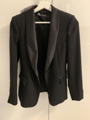 ❤️ Zara Blazer Smoking Jackett schwarz *neu mit Etikett*