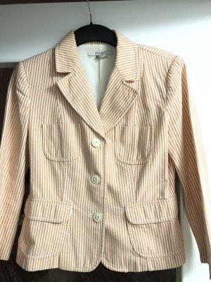 Zara Blazer tailliert gestreift Jacke streifen Gr. L Designer Look