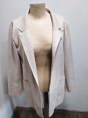 Zara Lange blazer room-licht beige