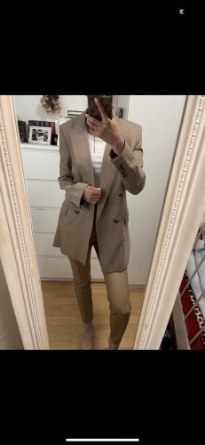 Zara Boyfriend blazer beige