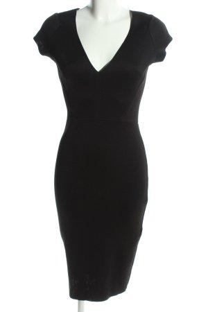 Zara Bleistiftkleid schwarz Business-Look