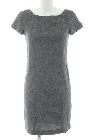 Zara Bleistiftkleid grau-dunkelgrau meliert Business-Look