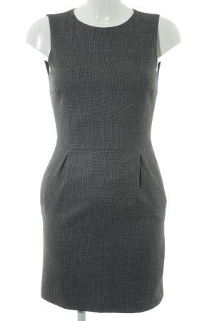 Zara Bleistiftkleid schwarz-anthrazit Business-Look