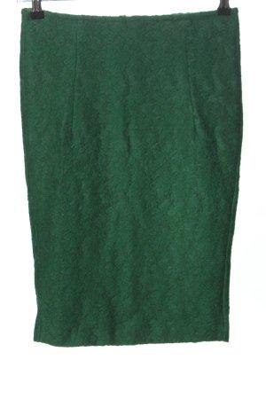 Zara Bleistiftrock grün Business-Look