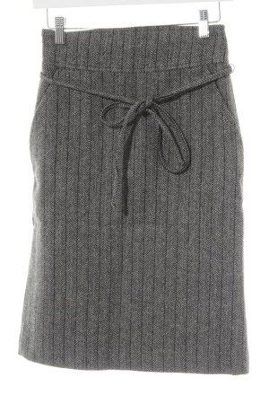 Zara Bleistiftrock aus Wollmischung grau Business-Look
