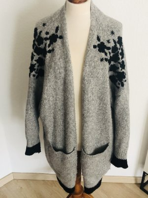 Zara Cardigan grey-black