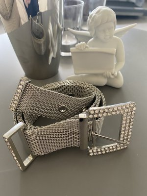 Zara Chain Belt silver-colored