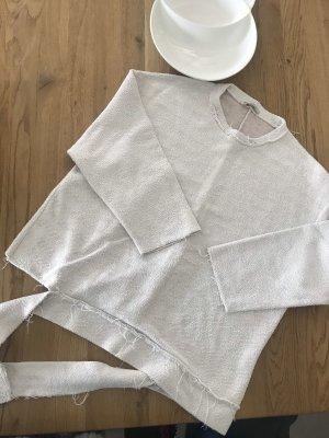 Zara Blogger Shirt im Frottee Style