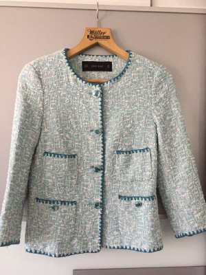 ZARA Blogger Tweed Boucle Jacke Blazer XS NEU