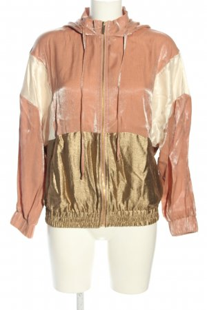 Zara Blouson grafisches Muster Casual-Look