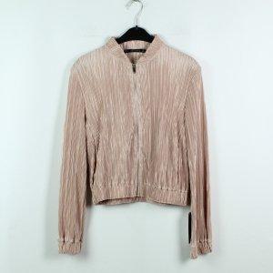 Zara Basic Blousje lichtroze Polyester