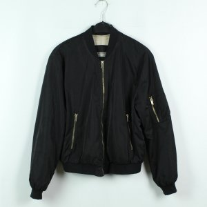 Zara Basic Blousje zwart Polyester