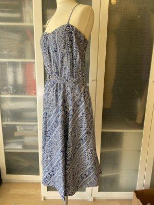 Zara Bandeau Dress azure-steel blue