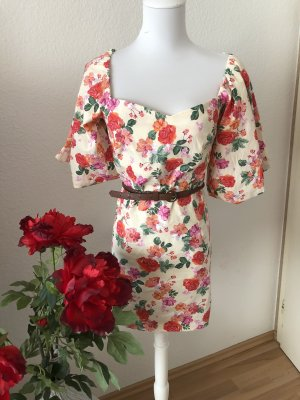 Zara Blumen Minikleid Neu ❤️