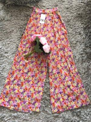 Zara Pantalone palazzo multicolore
