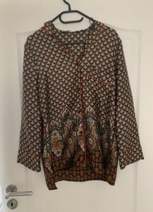 Zara Kimono Blouse black-brown