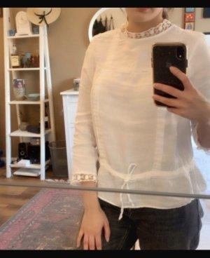 Zara Colletto camicia bianco