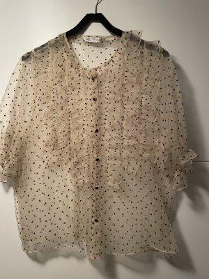 Zara Ruche blouse room