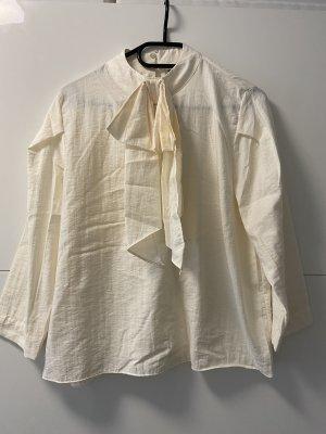 Zara Empiècement de blouses crème