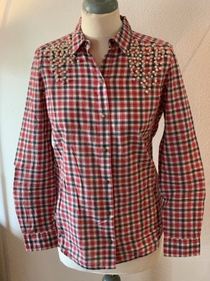 Zara Trafaluc Checked Blouse multicolored