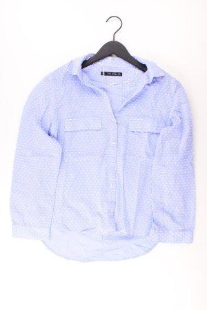 Zara Bluse blau Größe L